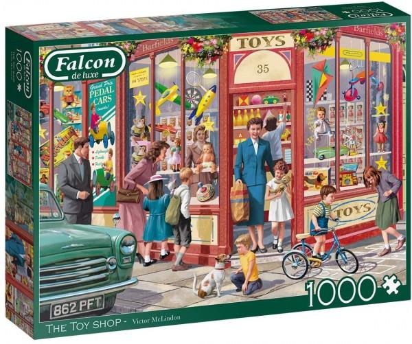 Puzzle - The Toy Shop (Falcon de Luxe) - 1000 Teile