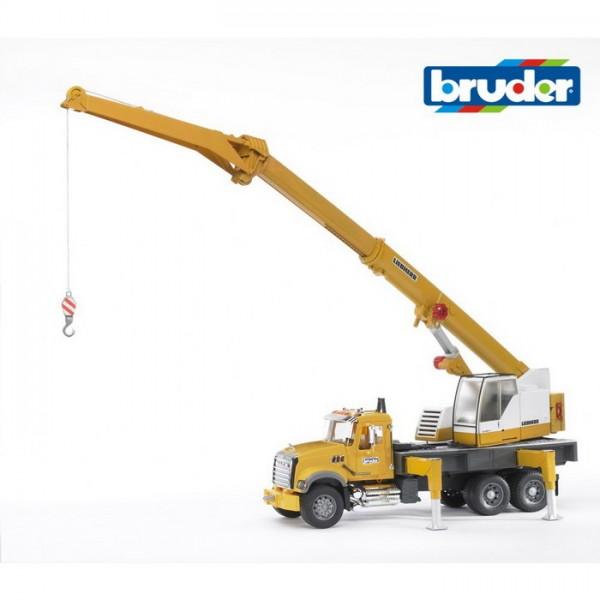 BRUDER 02818 - MACK Granite Kran-LKW