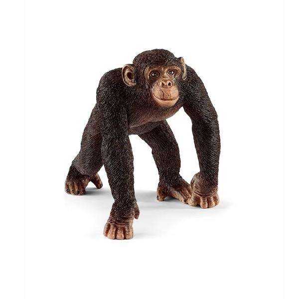 Schimpanse Männchen - Schleich 14817 Wild Life