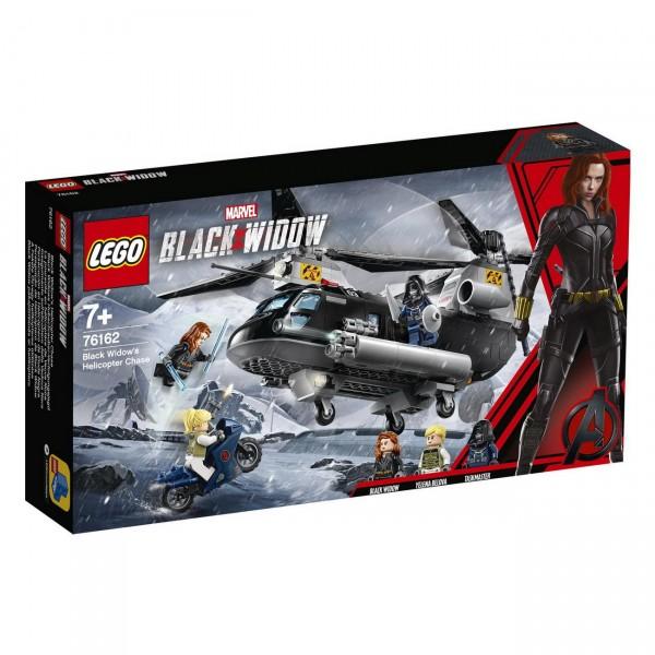 LEGO Marvel Super Heroes 76162 - Black Widows Hubschrauber Verfolgungsjagd