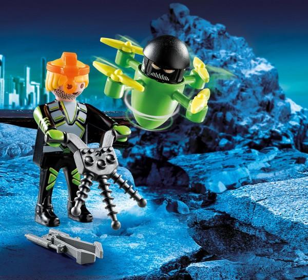 Playmobil 70248 - Agent mit Drohne - Special Plus