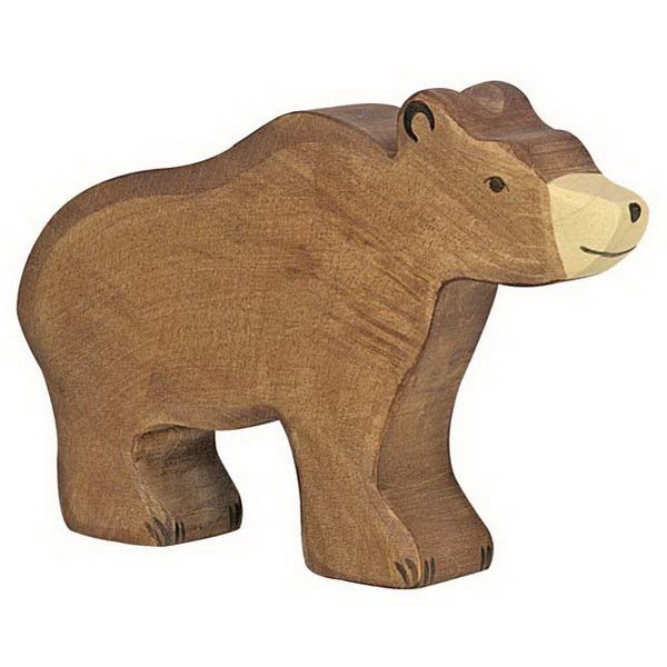 Holztiger Braunbär (80183)