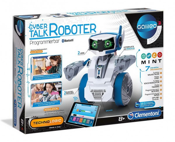 Galileo Science - Cyber Talk Roboter (Clementoni 59142)