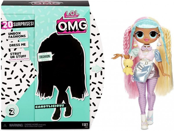 L.O.L. Surprise OMG Fashion - Candylicious Puppe