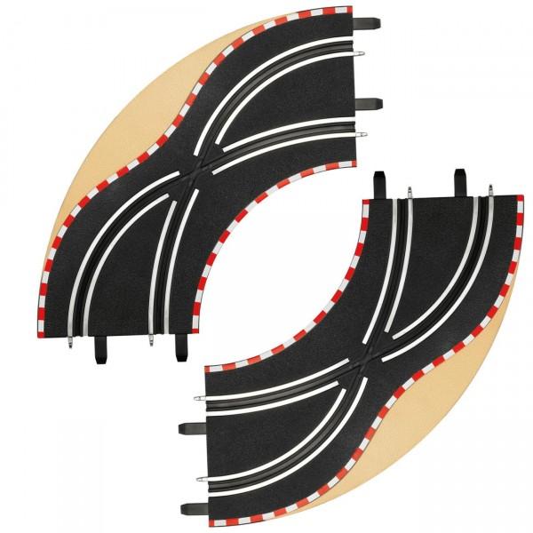 Carrera GO / Digital 143 - Spurwechselkurve (2) (61655)
