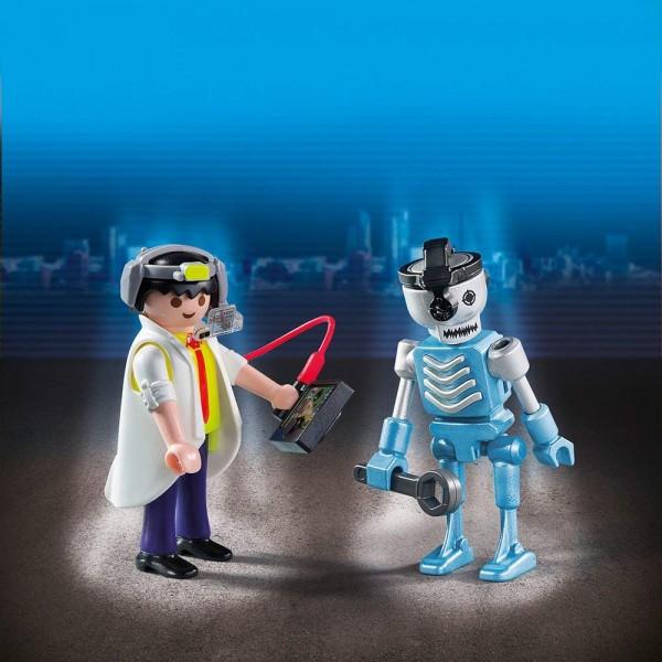 Playmobil 6844 - Duo Pack Professor und Roboter