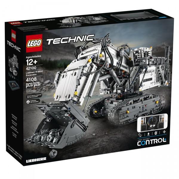LEGO Technic (42100) - Liebherr R 9800 Excavator - Bagger
