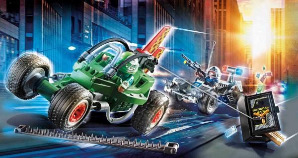 Playmobil 70577 - Polizei-Kart: Verfolgung des Tresorräubers (City Action)