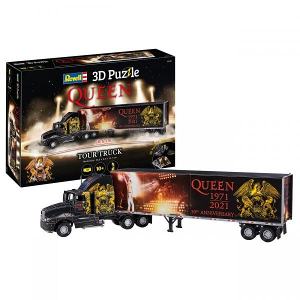 Revell 00230 - QUEEN Tour Truck - 3D Puzzle