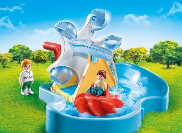 Playmobil 70268 - Wasserrad mit Karussell - 1.2.3 / Aqua