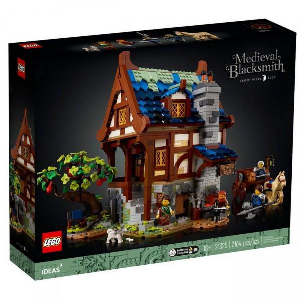 LEGO ideas 21325 - Mittelalterliche Schmiede