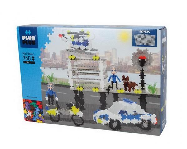 Plus-Plus - Basic Polizei 760 Teile (3762) - Bausteine kaufen