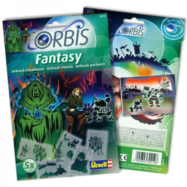 Orbis Schablonen Fantasy 30212