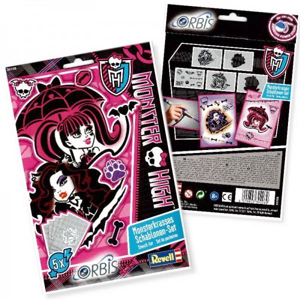 Orbis Schablonen Monster High II 30208