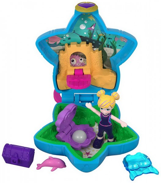Polly Pocket Tiny Places - Pollys Aquarium (Mattel)