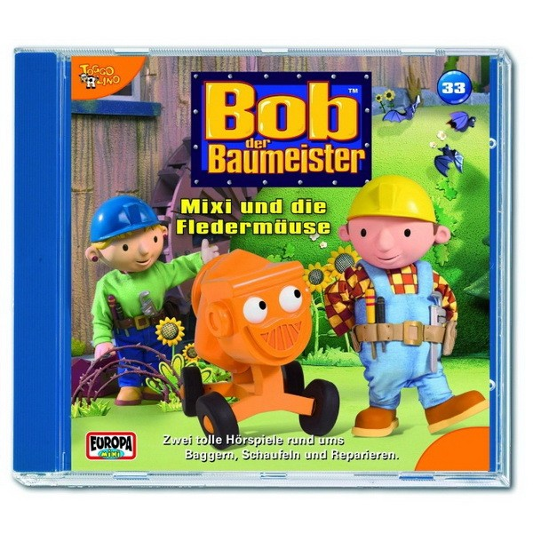 CD Bob der Baumeister: Mixi und die Fledermäuse (33)