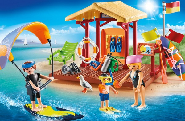 Playmobil 70090 - Wassersport Schule (Family Fun)