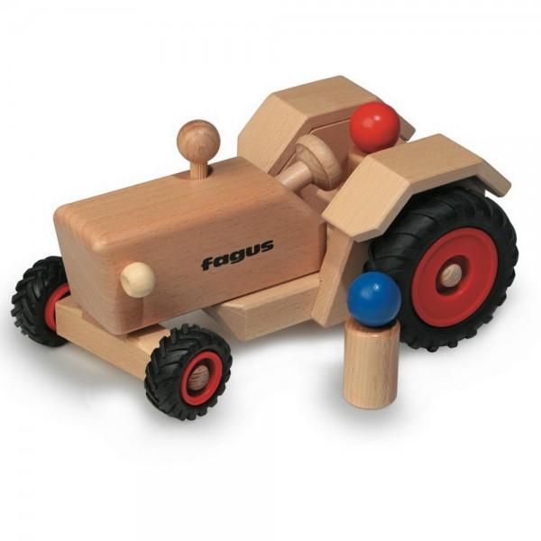 fagus Traktor (10-21) Holzspielzeug