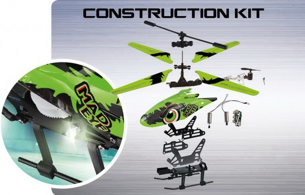 Revell Control - Modellbausatz Mad Eye (24716) Helikopter