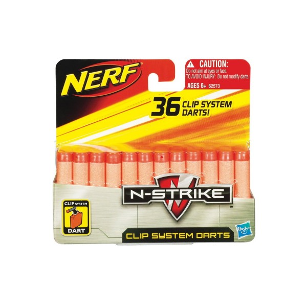 NERF N Strike ReCon Refill - Clip System Darts (36 Pfeile)