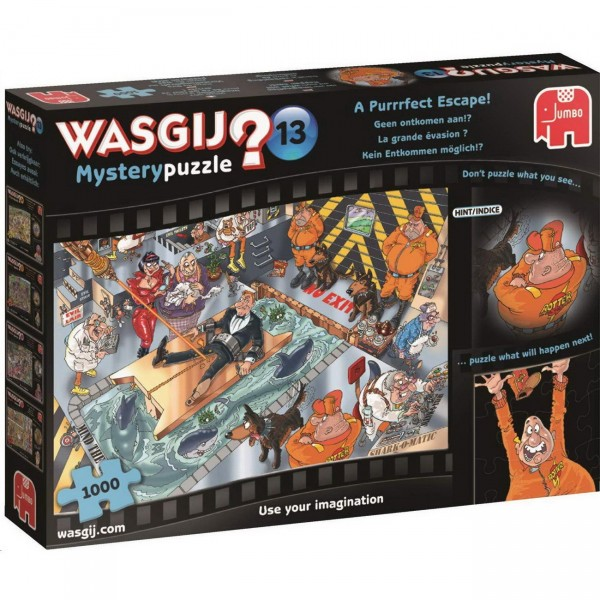 Wasgij Mystery 13 - Kein Entkommen möglich - Puzzle