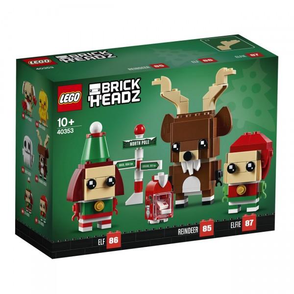 LEGO BrickHeadz 40353 - Rentier und Elfen