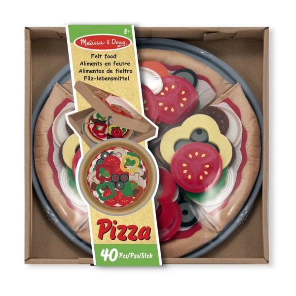 Pizza aus Filz