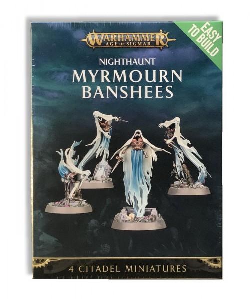 Warhammer: Age of Sigmar - Nighthaunt Myrmourn Banshees