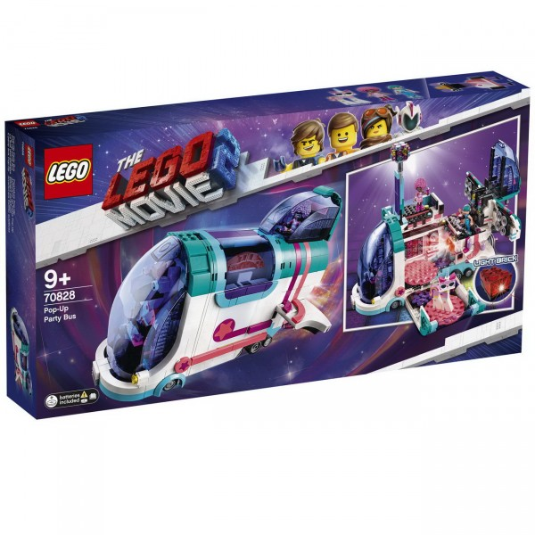 The LEGO Movie 2 70828 - Pop-Up Party Bus