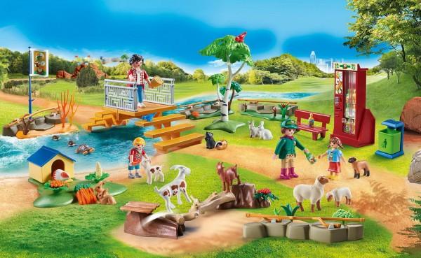 Playmobil 70342 - Erlebnis-Streichelzoo - Family Fun
