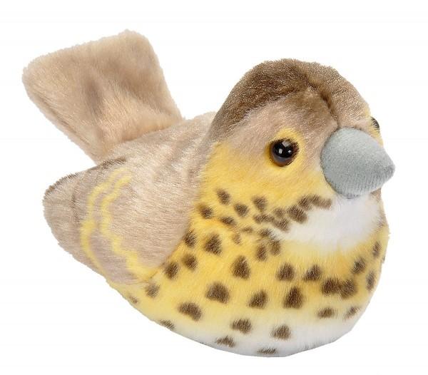 Singdrossel Plüsch mit echter Vogelstimme