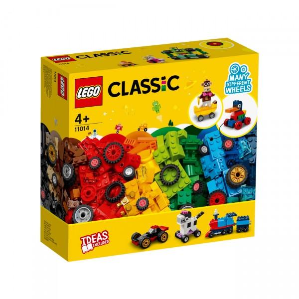 LEGO Classic 11014 - Steinebox mit Rädern