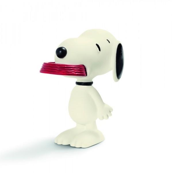 Snoopy mit Fressnapf - Peanuts - Schleich 22002