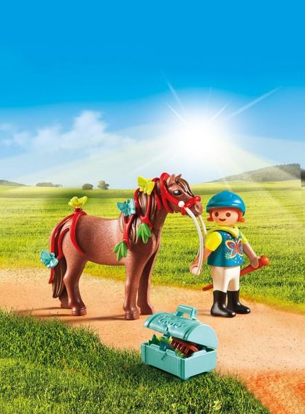 Playmobil 6971 - Schmück-Pony Schmetterling