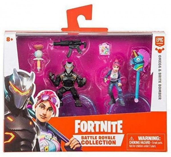 Omega und Brite Bomber - Fortnite Battle Royale Collection Duo Pack (Boti 35634)