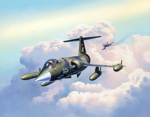 Revell 03904 - F-104G Starfighter Modell