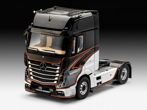 revell 07439 mercedes benz actros mp4 lkw modell lkw. Black Bedroom Furniture Sets. Home Design Ideas