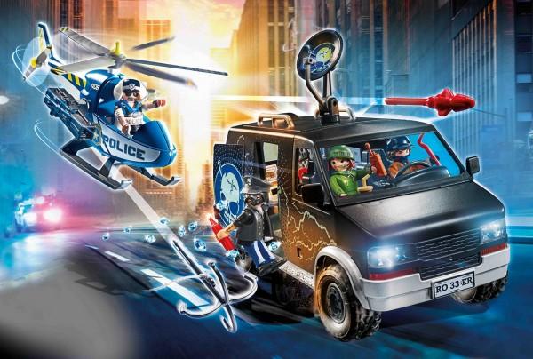 Playmobil 70575 - Polizei-Helikopter: Verfolgung des Fluchtfahrzeugs (City Action)