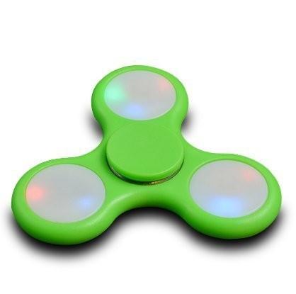 Fidget Spinner LED grün