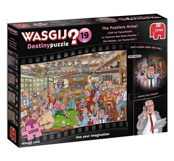 Wasgij Destiny 19 - Die Kneipe Im Puzzle-Eck - Puzzle