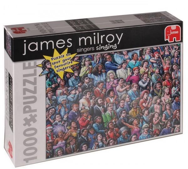 Puzzle James Milroy - Singers Singing