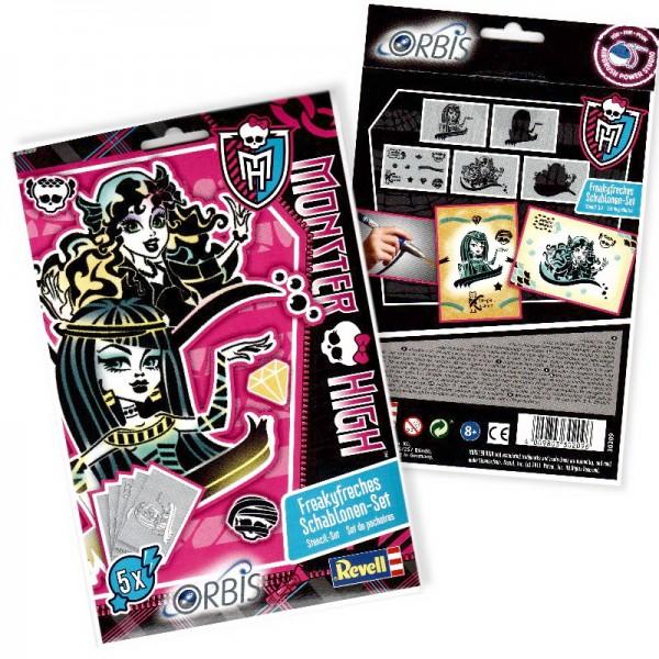 Orbis Schablonen Monster High III 30209