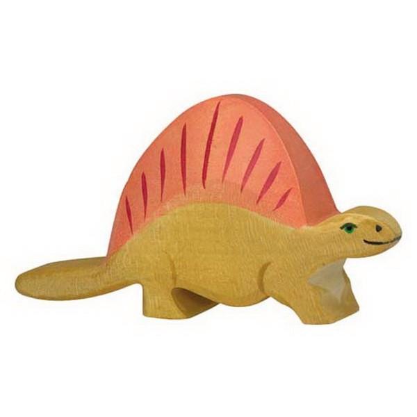 Holztiger Dimetrodon (80343) Dinosaurier Figur