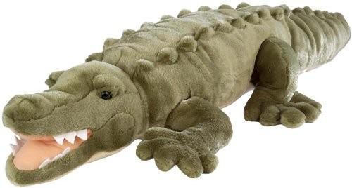 Krokodil Plüschtier groß 80 cm