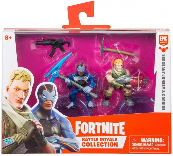 Sergeant Jonesy und Carbide - Fortnite Battle Royale Collection Duo Pack (Boti 35633)