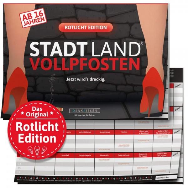 STADT LAND VOLLPFOSTEN - Rotlicht Edition - A4 (DENKRIESEN)