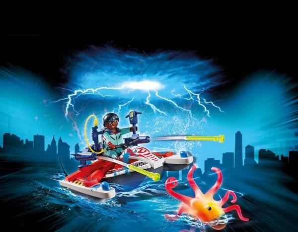 Playmobil 9387 - Zeddemore mit Aqua Scooter (Ghostbusters)