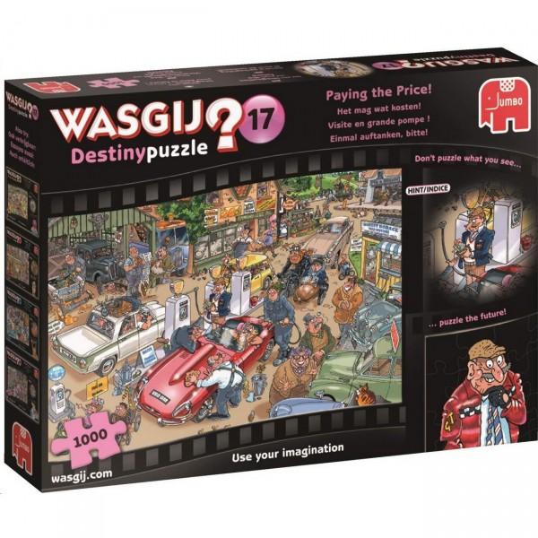 Wasgij Destiny 17 - Einmal auftanken, bitte - Puzzle