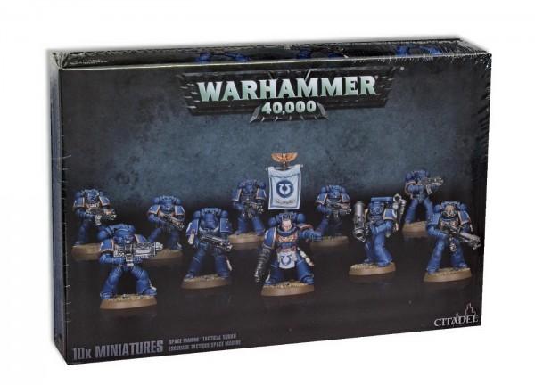 Warhammer 40k: Taktischer Trupp der Space Marines (48-07)