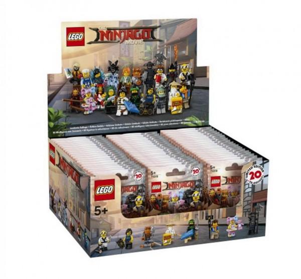 LEGO Minifigures 71019 - THE LEGO NINJAGO MOVIE - 60er Display